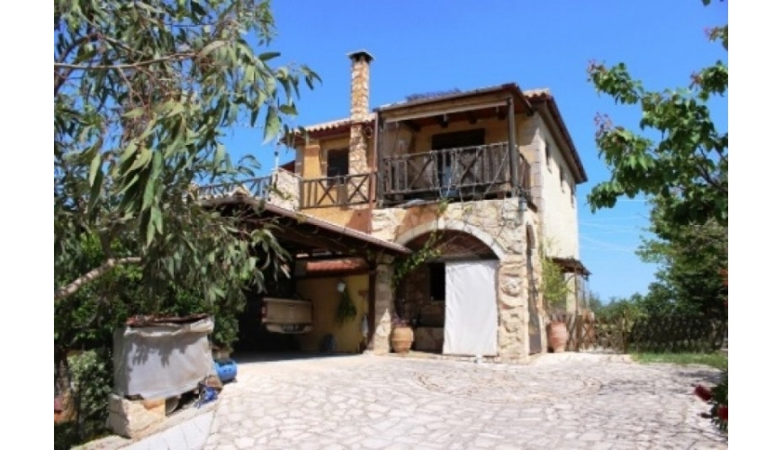 DC-541 Unique 4 Bed Villa and land in Sellia €350,000