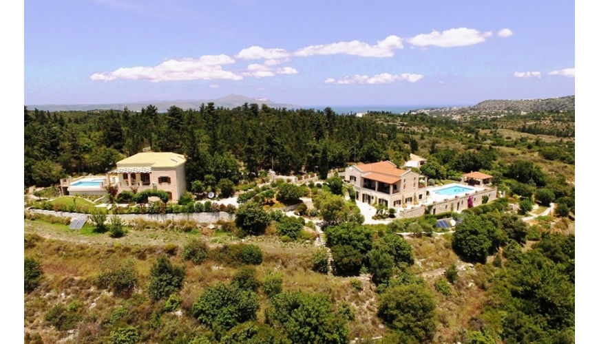 DC-611 Two Luxury Villas with Private Pools in Douliana - €1,550,000