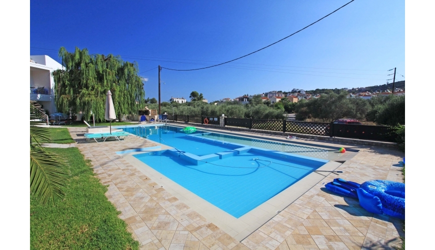 DC-690 - 2 Bed Apartment & Pool In Almyrida - €120,000
