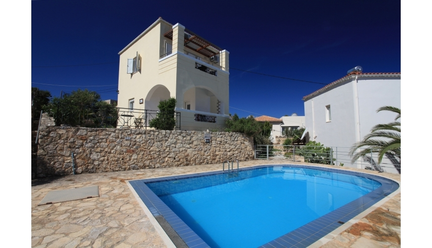 DC-706 2 Bed Plaka Villa With Sea Views OFFER  ACCEPTED