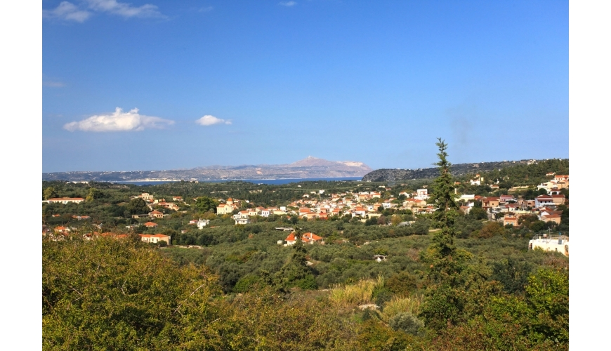 DCP-244 Plot with Sea and Mountain Views in Gavalohori €70,000