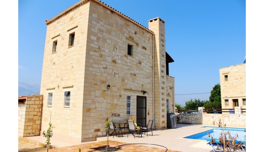 DC-233 Stone Villa in Agios Vasilios Priced at €299,500