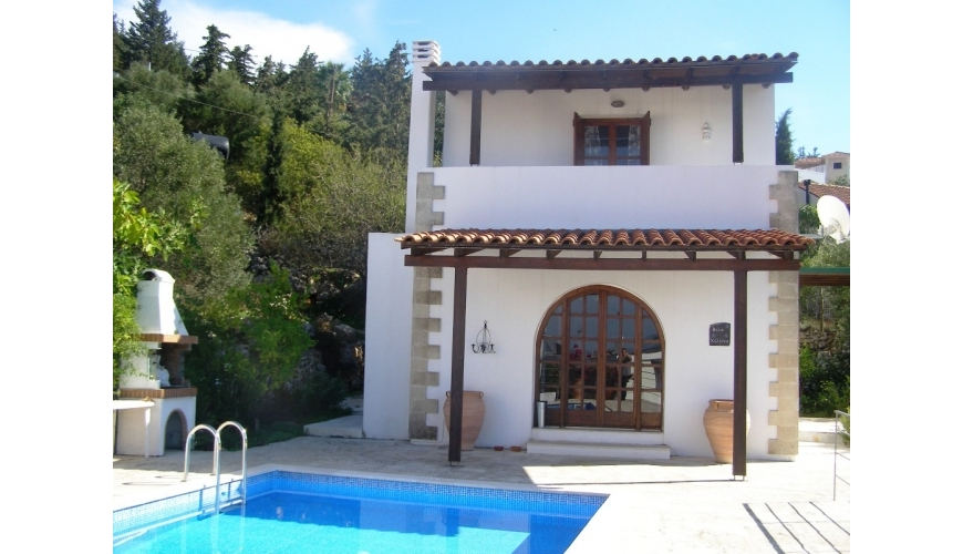 DC-343 Gavalohori Villa with Pool Reduced to €169000