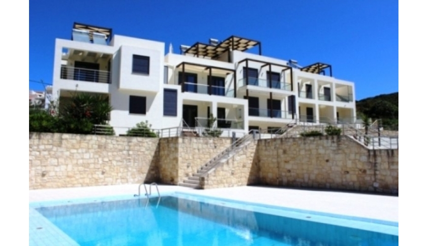 DC-492 Luxury 4/5 Bed Townhouse in Almyrida  €335000